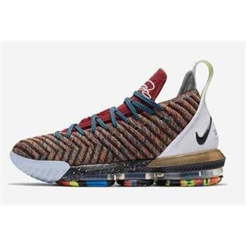 What The Nike LeBron 16 1 Thru 5 Multi-Color BQ6580-900