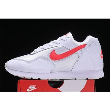Womens Nike Outburst OG White Solar Red