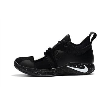 New nike fingertrap max white and red carpet black Black/White Paul George Shoes Free Shipping