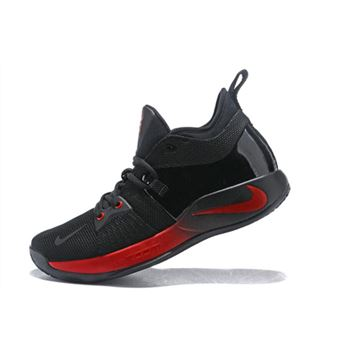 Nike PG 2 Black Red Mens Basketball Shoes