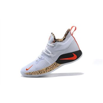 Nike PG 2 Leopard Print Mens Basketball Shoes