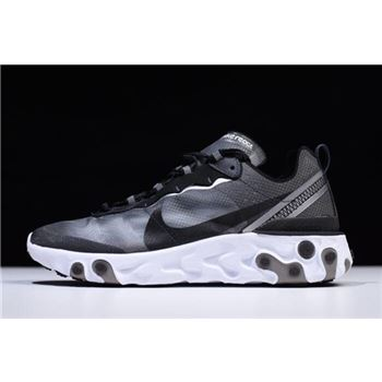 Nike React Element 87 Anthracite Black White