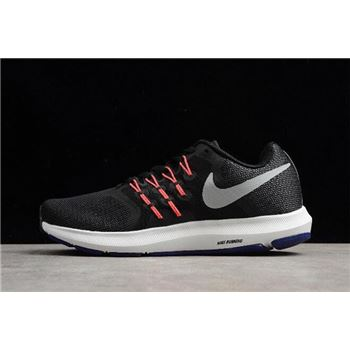 Nike Run Swift Black Matte Silver Running Shoes