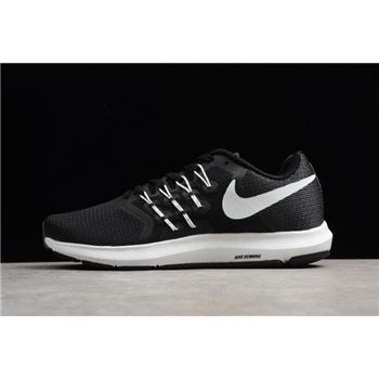 Nike Run Swift Black White Dark Grey Running Shoes