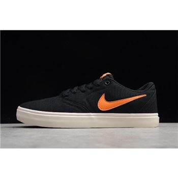 Nike SB Check Solar Canvas PRM Black Clay Orange Ivory