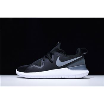 Nike Tessen Black Grey White Mens Running Shoes