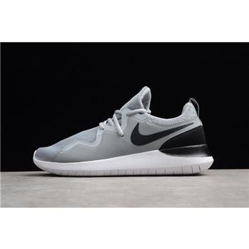 Nike Tessen Wolf Grey Black White Mens Shoes