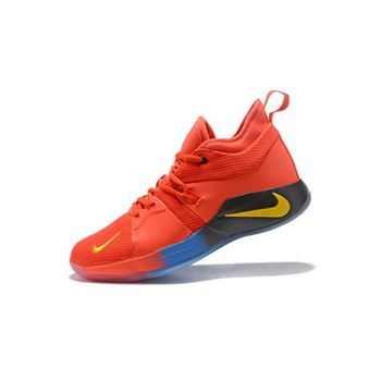 Paul George Nike PG 2 Orange Mens Basketball Shoes