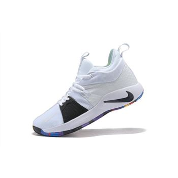 Paul Georges Nike PG 2 NCAA March Madness White Multi Color