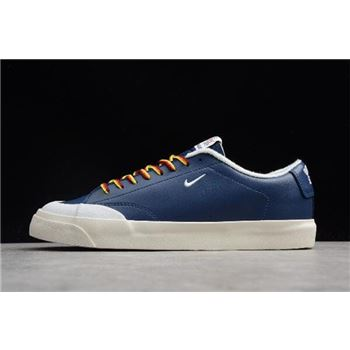 Quartersnacks x Nike SB Zoom Blazer Low XT Navy Sail White