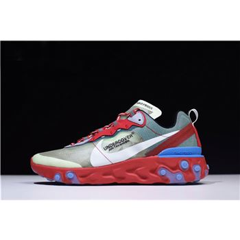 Undercover x Nike Epic React Element 87 Red Green Blue