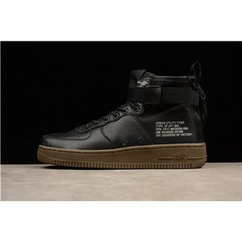 Latest Nike SF AF1 Mid Hazel Black Black Hazel