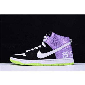 Nike Dunk High Prm SB Send Help 2 Black Mortar Dark Raspberry