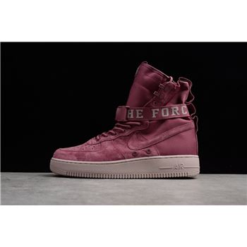Nike SF-AF1 High TVintage Wine AJ1700-600 Men's and Women's Size