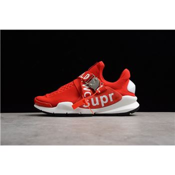 Nike Sock Dart x Supreme White Red Mens and Womens Size Shoes