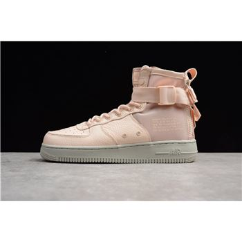 Nike WMNS SF AF1 Mid Orange Quartz