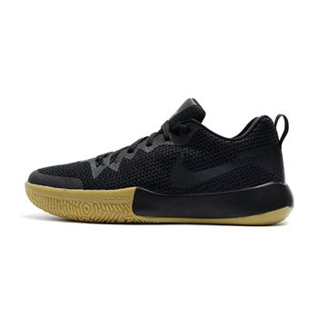 Nike Zoom Live II Black Gum Mens Basketball Shoes