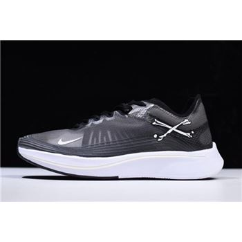 NikeLab Zoom Fly SP Black Grey White