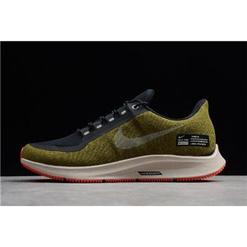 Nike Air ZM Pegasus 35 Shield Olive Flak Metallic Silver