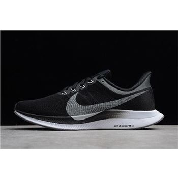 Nike Air Zoom Pegasus 35 Turbo Black Vast Grey Oil Grey Gunsmoke