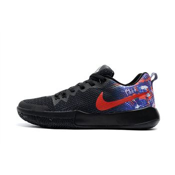 Nike Zoom Live II EP Black Multi Color Mens Basketball Shoes