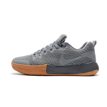 Nike Zoom Live II EP Cool Grey Gum Mens Basketball Shoes