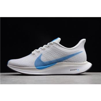 Nike Zoom Pegasus 35 Turbo White Blue Hero Vast Grey