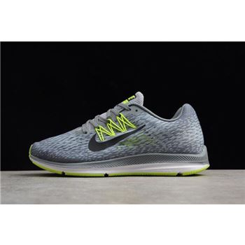 Nike Zoom Winflo 5 Cool Grey Black Wolf Grey Vlot Mens Running Shoes