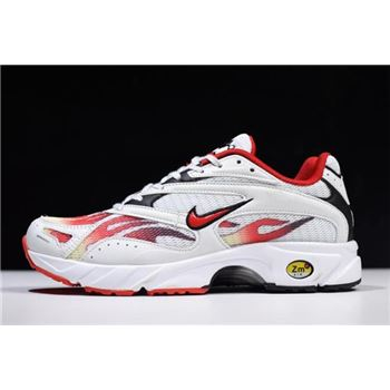 Supreme x Nike Zoom Streak Spectrum Plus White/Habanero Red-Black AQ1279-100