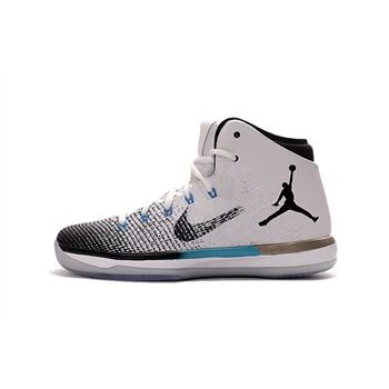 "Air Jordan XXX1 ""N7"" Black/Dark Turquoise-White 854272-003"