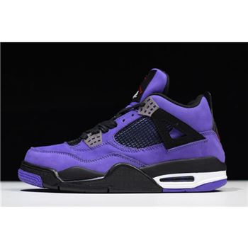 "2018 Travis Scott x Air Jordan 4 ""Purple"" 308497-510"