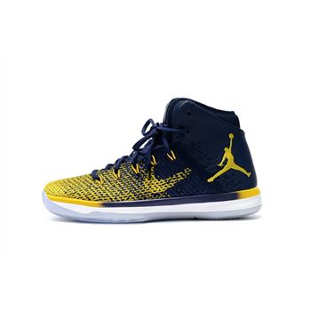 "Air Jordan XXX1 ""Michigan"" Blue/Maize 845037-600"