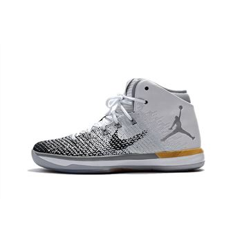 "Air Jordan XXX1 ""Chinese New Year"" White/Black-Metallic Gold 885429-103"