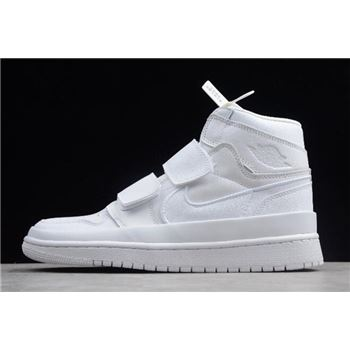 "Air Jordan 1 High Double Strap ""White"" AQ7924-100"