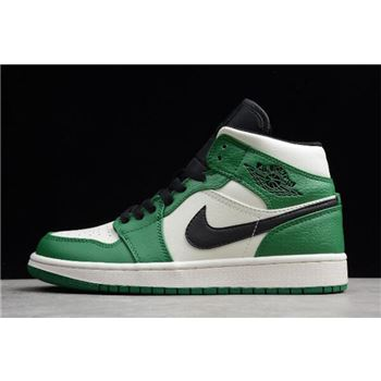 Air Jordan 1 Mid SE Pine Green/Sail-Black 852542-301