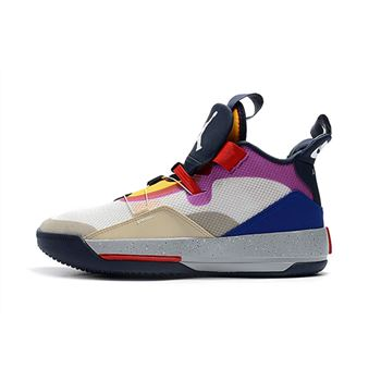 "Air Jordan 33 ""Visible Utility"" Yellow/Pink-Red"