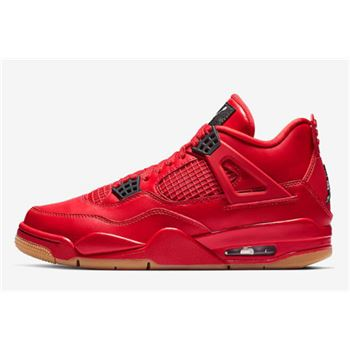 "Air Jordan 4 ""Singles Day"" Fire Red/Summit White-Black AV3914-600"