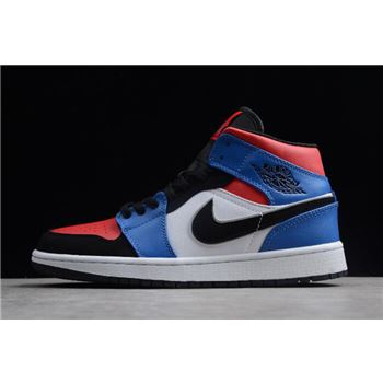 """New nike apple shoe store coupons Mid AJ1 """"Top 3"""" 554725-124"""