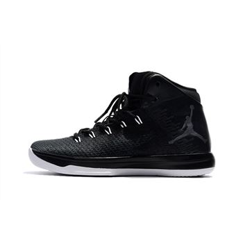 "Air Jordan XXX1 ""Black Cat"" Black/Anthracite-White 845037-010"