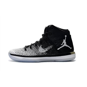 "Air Jordan XXX1 ""Fine Print"" Black/White-Wolf Grey 845037-003"