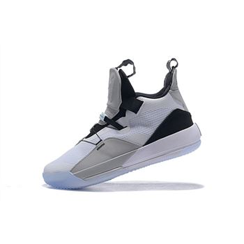 Air Jordan 33 XXXIII White/Grey-Black