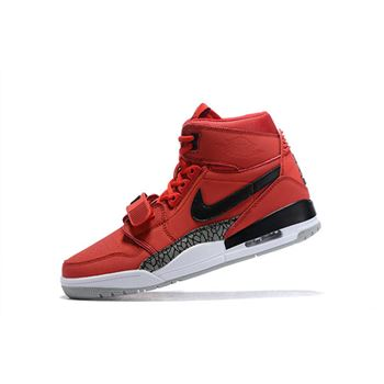 "Don C x Jordan Legacy 312 ""Toro"" Varsity Red/Black-White AV3922-601"