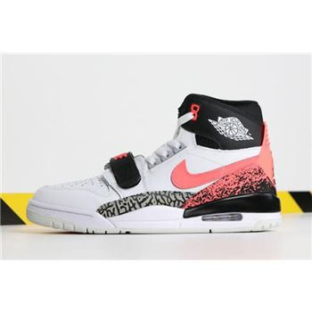 "Don C x Jordan Legacy 312 ""Air Tech Challenge"" White/Hot Lava-Black-Zen Grey AQ4160-108"