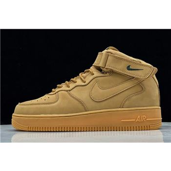 "Nike Air Force 1 Mid '07 PRM QS ""Flax"" 715889-200"