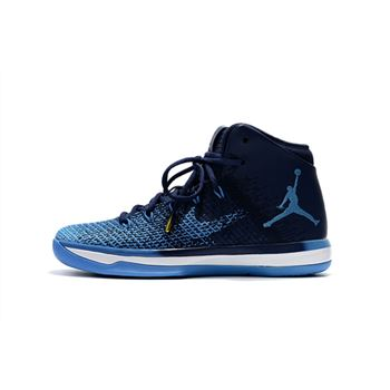 Air Jordan XXX1 Navy Blue/Royal Blue-White