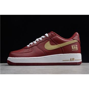 "Nike Air Force 1 Low Premium ""LeBron James"" Cavs 306353-671"