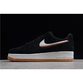 Nike Air Force 1 '07 LX Black/Gum Yellow-Summit White 898889-010