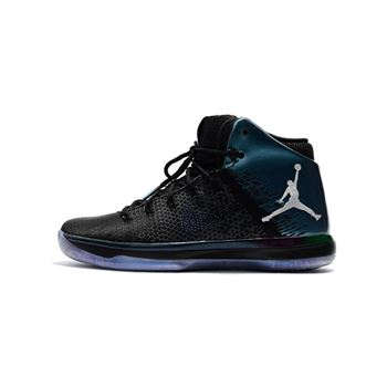 "Air Jordan XXX1 ""All-Star"" Black/Metallic Silver 905847-004"