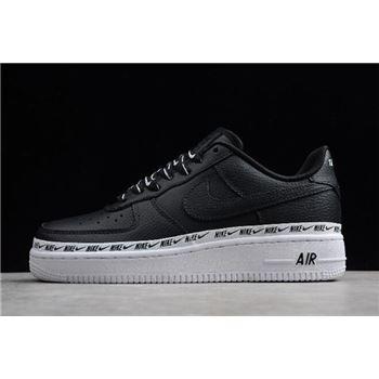 Nike Air Force 1 '07 SE Premium Black/Black-White AH6827-002