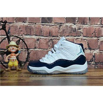 "Kid's Air Jordan 11 ""Win Like '82"" Midnight Navy"